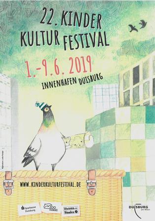 Plakat Kinderkulturfestival 2019