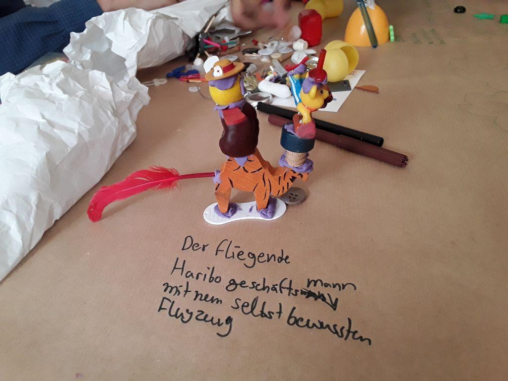 Kreationen der Kinder